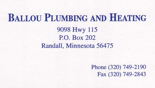 Ballou Plumbing and Heating