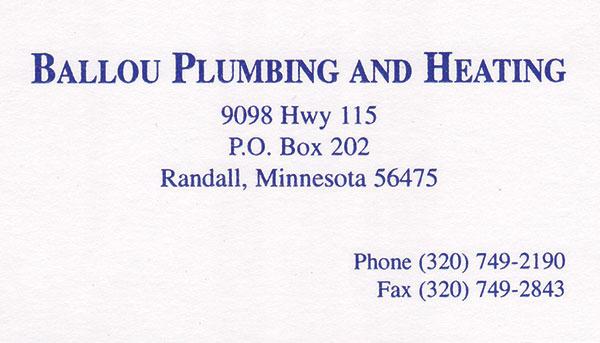 Ballou Plumbing and Heating