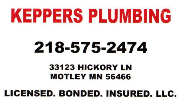 Keppers Plumbing